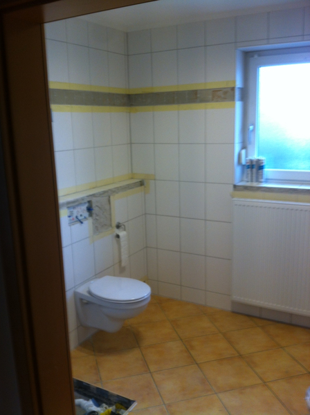 baudienstleistungen - bad / wohnräume, Badezimmer